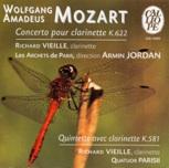 Mozart - Concerto et quintette - Parisii - Vieille