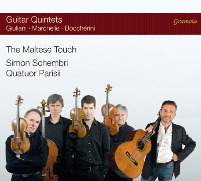 Quintettes avec guitare - Giuliani / Marchelie / Boccherini - Schembri - Parisii