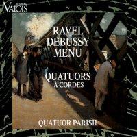 Quatuors - Ravel Debussy Menu - Parisii