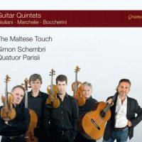 Guitar quintets - Giuliani / Marchelie / Boccherini - Schembri - Parisii